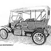 1911 Maxwell A B Poster