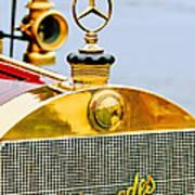 1911 Mercedes 50 Hp Maythorn Tourer Hood Ornament Poster