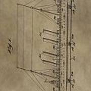 1911 Steamship Patent Poster