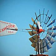 1920 Aermotor Windmill Poster