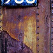 1920's Nyc Subway Car 983 Poster