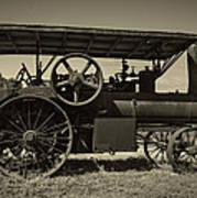 1921 Aultman Taylor Tractor Poster by Debra and Dave Vanderlaan