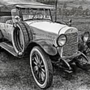 1921 Hudson-b-w Poster