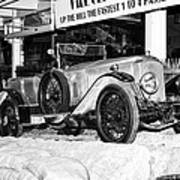 1921 Vauxhall 30/98e Poster