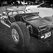 1925 Ford Model T Hot Rod Bw Poster