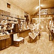 1925 Irish Shoe Store Poster