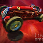 1926 Delage Grand Prix Car  Alfa-romeo  Poster