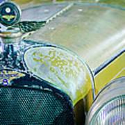 1926 Duesenberg Hood Ornament - Motometer Poster