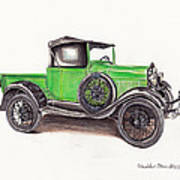 1926 Ford Truck Poster