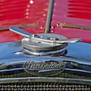 1926 Sunbeam Tiger Hood Emblem Poster