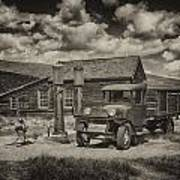 1927 Dodge Braham Bodie Ca Sepia Img 7299 Poster