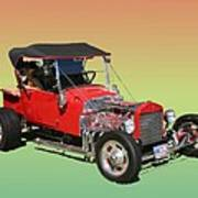 1927 Ford T Bucket Rag Top T Bucket Poster