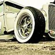 1928 Ford Model A Hot Rod Poster