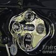 1928 Ford Model A Tudor Interior Poster