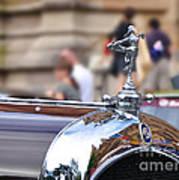 1928 Vintage Chrysler 72 Series - Hood Ornament Poster