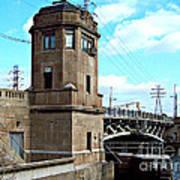 1929 Dix Lift Bridge Poster