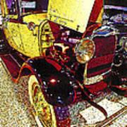 1929 Ford Digital Art Poster