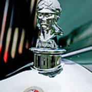 1929 Minerva Hood Ornament Poster