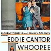 1930 - Whoopee - Movie Poster - Eddie Cantor - Florenz Ziegfield - Samuel Goldwyn - Color Poster