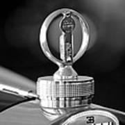 1930 Bugatti Hood Ornament Poster