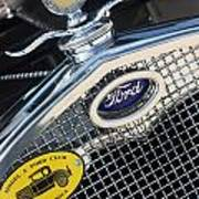 1930 Ford Model A - Radiator N Grill - 7479 Poster
