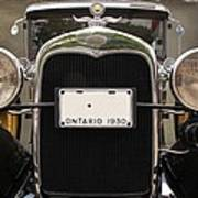 1930 Ford Model A Poster