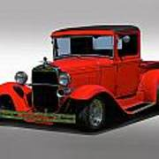 1930 Ford Model A Pick Up Poster
