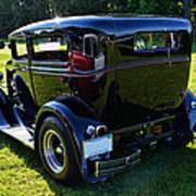 1930 Ford Model A Sedan Poster