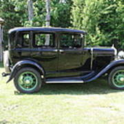 1930 Model-a Town Car 1 Poster