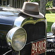 1930 Model-a Town Car 2 Poster