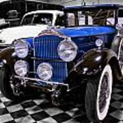 1930 Packard Limousine Poster