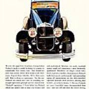 1931 - Packard Automobile Advertisement - Color Poster