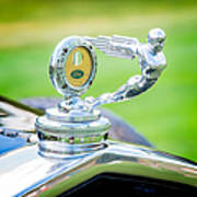 1931 Ford Model A Deluxe Fordor Hood Ornament Poster