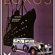 1932 - Mercedes Benz Automobile Poster - Color Poster