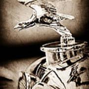 1932 Alvis Hood Ornament - Emblem Poster