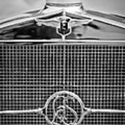 1932 Cadillac Lasalle Grille Emblem Poster