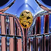 1932 Chrysler Ch Imperial Cabriolet Grille Emblem Poster