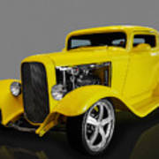 1932 Ford 3 Window Coupe Poster