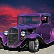 1932 Ford Coupe 'people Eater' Poster