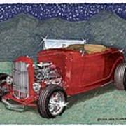 1932 Ford High Boy Poster