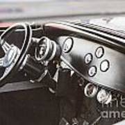 1932 Ford Highboy Dashboard Car Automobile In Color  3108.02 Poster