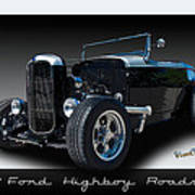 1932 Ford Highboy Roadster Poster