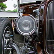 1932 Ford Roadster Head Lamp View Poster