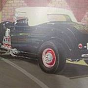 1932 Ford Roaster At Deuce's Saloon Poster