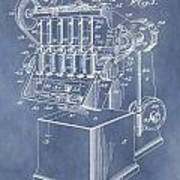 1932 Machine Patent Poster