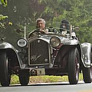 1933 Alfa Romeo 8c Corto Touring Spyder Poster by Jill Reger