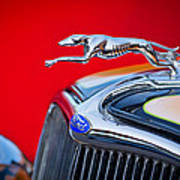 1933 Ford Hood Ornament Poster