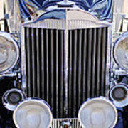 1933 Packard 12 Convertible Coupe Grille Poster