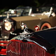 1933 Pierce Arrow 12 Convertible Sedan By Lebaron 5d26739 Poster