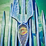 1934 Chrysler Airflow Hood Ornament 2 Poster